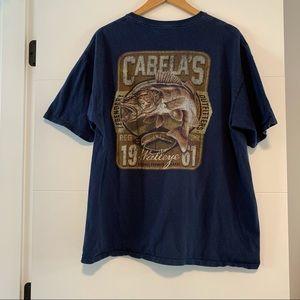 Cabela's   Walleye Graphic Tee Shirt